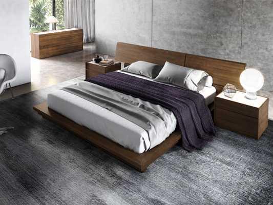 Hunter Bed - Queen Ash Veneer - Rove Concepts