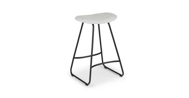 Para Mist Gray Counter Stool - Article