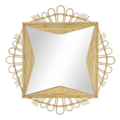 Geneva Mirror in Natural - Caravan Living