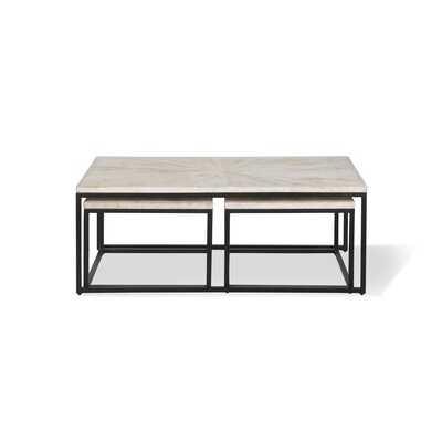 Buterbaugh Frame 3 Nesting Coffee Table - Wayfair