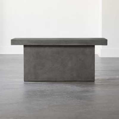 Span Small Grey Bench - CB2