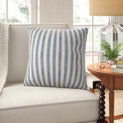 Weimar Cotton Striped Throw Pillow Cover - Birch Lane