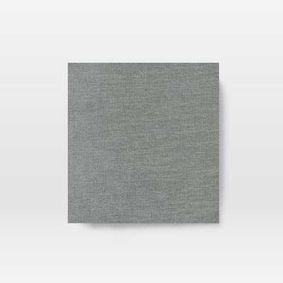 "Hamilton 81"" Sofa, Distressed Velvet, Mineral Gray, Almond, Poly, - West Elm"