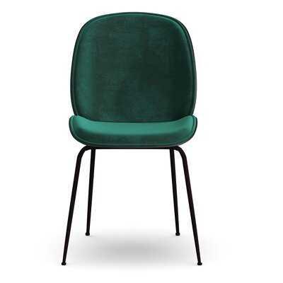 Mcwhorter Velvet Upholstered Side Chair - AllModern