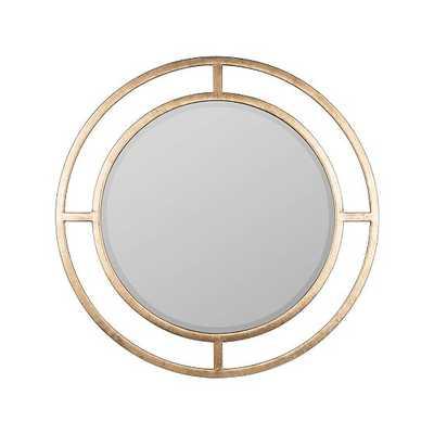 Averie Wall Mirror, Gold - West Elm
