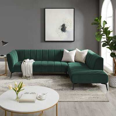 North Reading 107.48'' Right Hand Facing Modular Sofa & Chaise - Wayfair