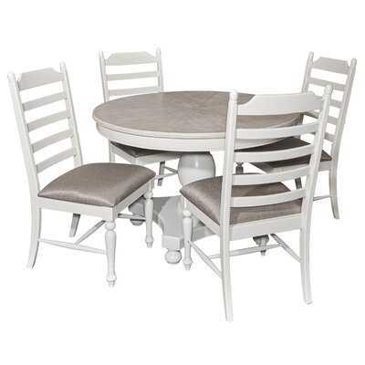 Cuyuna Round 5 Piece Dining Set - Wayfair
