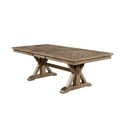 Dreshertown Extendable Trestle Dining Table - Wayfair