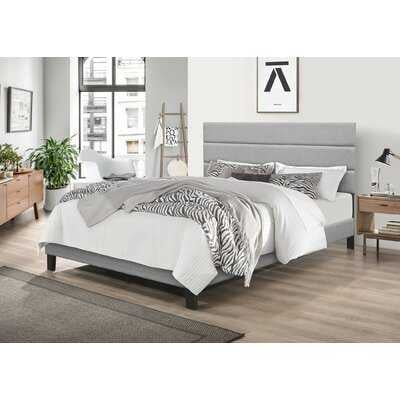 Aghadavy Upholstered Low Profile Platfoam Bed - Wayfair