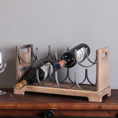 Biggs 8 Bottle Tabletop Wine Bottle Rack - Birch Lane