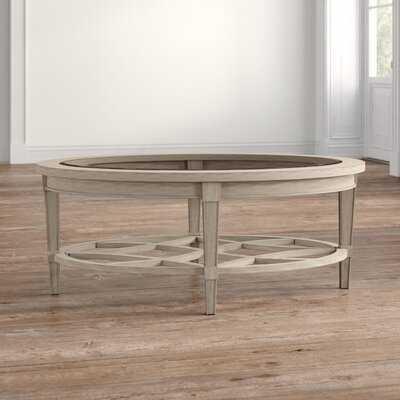 Clemence Coffee Table with Storage - Wayfair