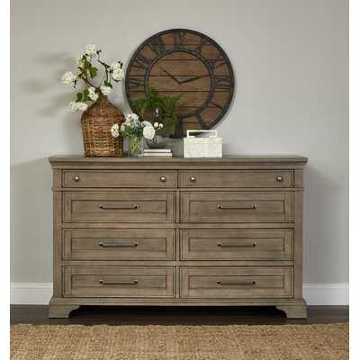 Trisha Yearwood Home Boardwalk 8 Drawer Double Dresser - Birch Lane