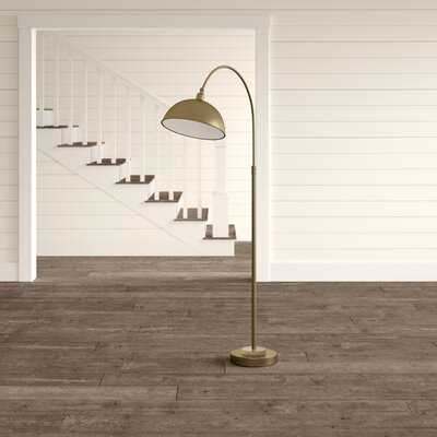 "Archstone 63.5"" Arched/Arc Floor Lamp - Birch Lane"