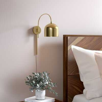 Amora 1 - Light Dimmable Plug-In Armed Sconce - AllModern