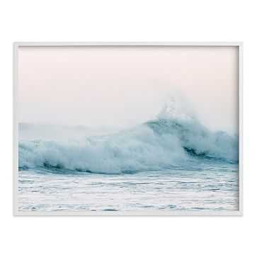 "Playa Negra, White Wood Frame, 30""x40"" - West Elm"