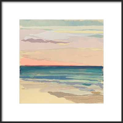 Sunset Stripes 2 by Karin Olah for Artfully Walls - Artfully Walls
