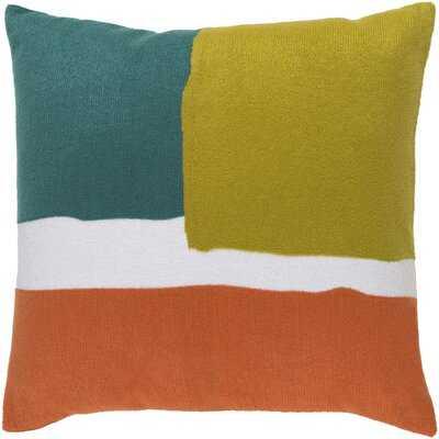 Escanaba Cotton Throw Pillow Cover - AllModern