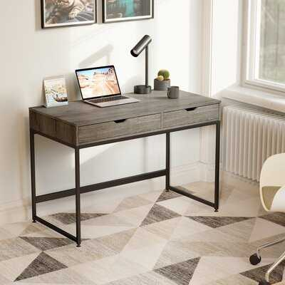 43.3 Inch Computer Desk With 2 Drawers - Wayfair