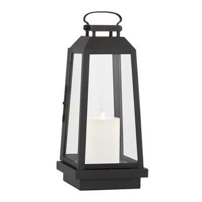 Edgewater Battery Powered LED Outdoor Lantern - Birch Lane
