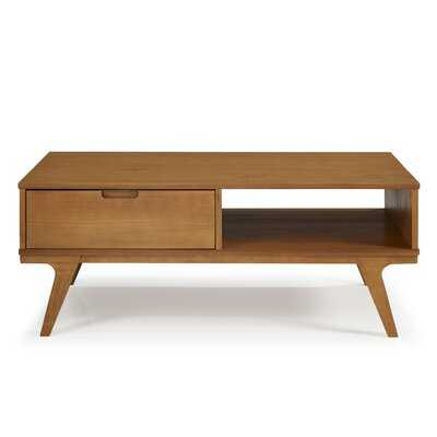 Barnsdall Coffee Table with Storage- Pine - Wayfair