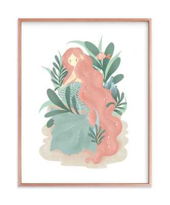 Princess Of The Sea Children's Art Print - Minted