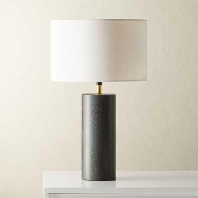Sahara Grey Table Lamp - CB2