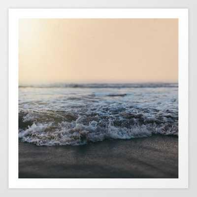 Sunrise Ocean Art Print by Leah Flores - LARGE - Society6