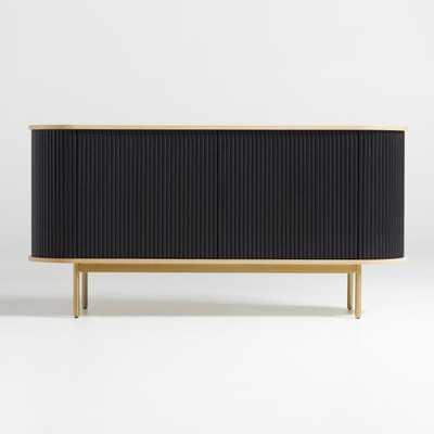 Walton Ribbed Sideboard - Crate and Barrel