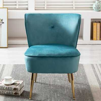 Seho 22.83'' Wide Tufted Velvet Lounge Chair - Wayfair