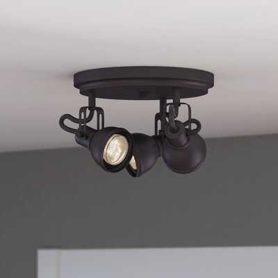 "Usry 3 - Light 12"" Cluster Bell Directional & Spotlight - Wayfair"