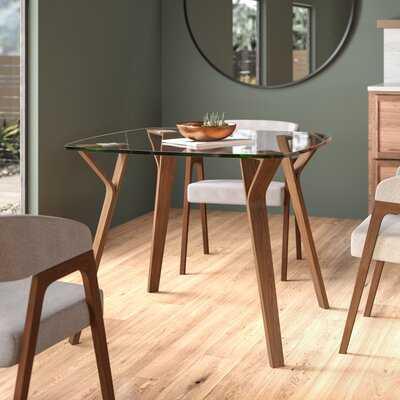 Marilyn Glass Top Dining Table - AllModern