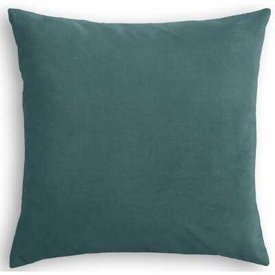 Square Velvet Pillow Cover & Insert - Wayfair