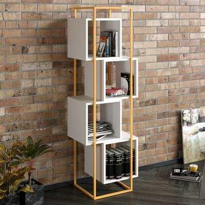 Agda Geometric Bookcase - Wayfair