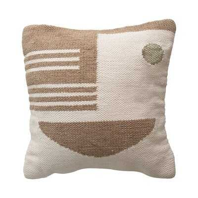 Tribal Square Pillow Cover and Insert - AllModern