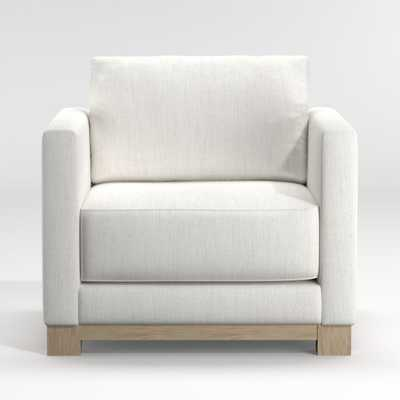 Gather Petite Wood Base Chair - Crate and Barrel