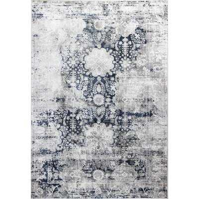 Hickey Oriental Gray Area Rug - Birch Lane