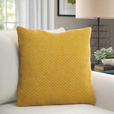 "Bogner Cotton 20"" Throw Pillow - Birch Lane"