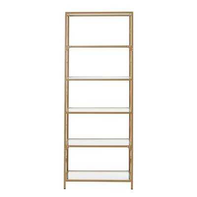 """Sohara 72.3"""" H x 28"""" W Iron Etagere Bookcase - Wayfair"""