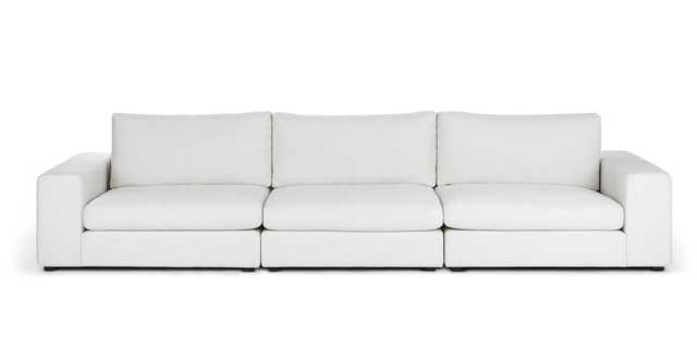 Beta Quartz White Modular Sofa - Article