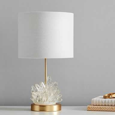 Geode Burst Table Lamp - Pottery Barn Teen