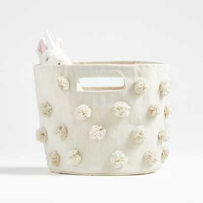 Pehr Natural Pom Pom Pint Bin - Crate and Barrel