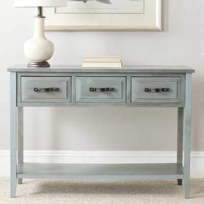 "Crystal River 42"" Solid Wood Console Table - Wayfair"
