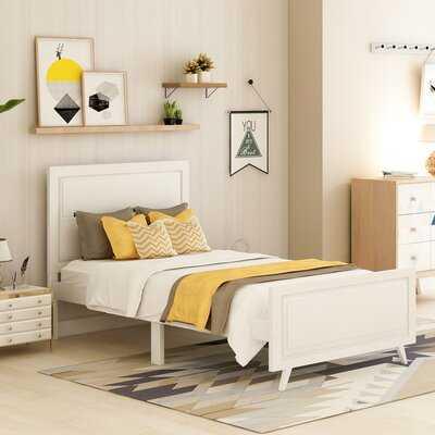 Hamann Solid Wood Twin Bed - Wayfair