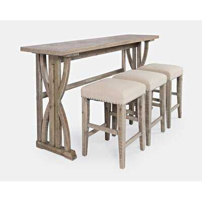 Maone 4 Piece Counter Height Dining Set - Wayfair