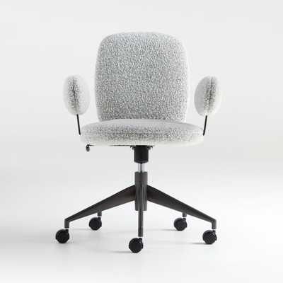 Faro Grey Office Chair - Crate and Barrel
