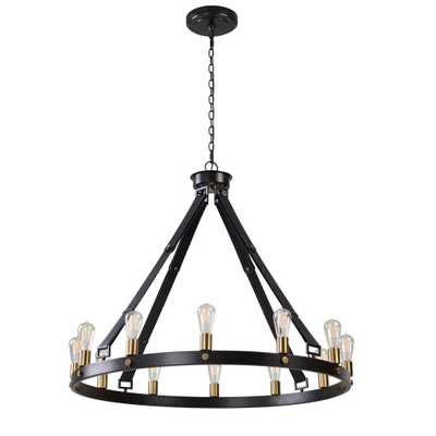Marlow 12 Light Circle Chandelier - Hudsonhill Foundry