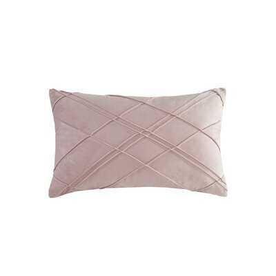 Naomi Rectangular Velvet Pillow Cover and Insert - Wayfair