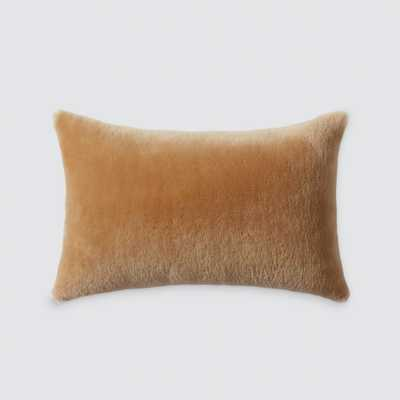 Sheepskin Lumbar Pillow - Tan By The Citizenry - The Citizenry