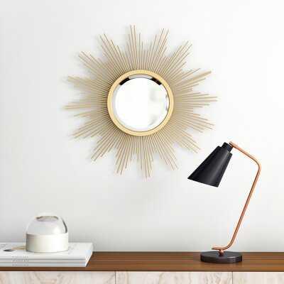 Laisha Modern & Contemporary Beveled Wall Mirror - AllModern