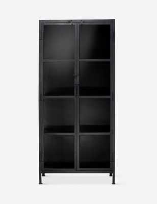 Sam Curio Cabinet, Black - Lulu and Georgia